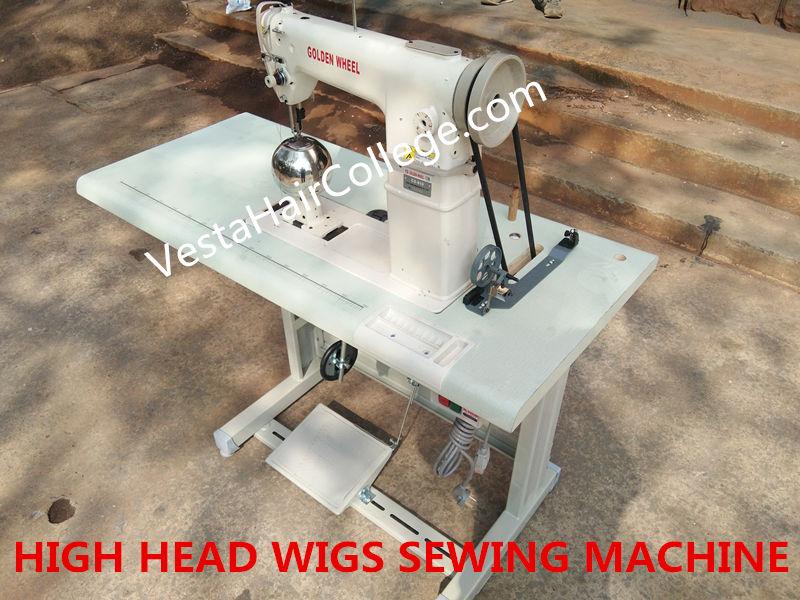 High Head Wigs Sewing Machine